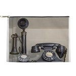 Vintage bakelite candlestick telephone Makeup Bag