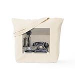 Vintage bakelite candlestick telephone Tote Bag