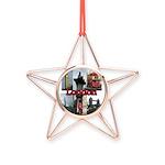 London Views Copper Star Ornament