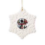 London Views Snowflake Ornament