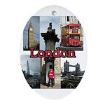 London Views Oval Ornament