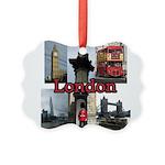 London Views Picture Ornament