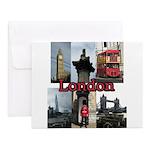 London Views Notecards (Set of 20)