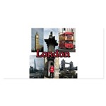 London Views 4x8 Flat Cards (Set of 20)