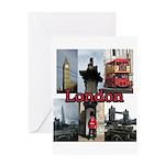 London Views Greeting Cards