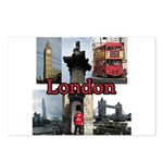London Views Postcards (Package of 8)