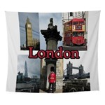 London Views Wall Tapestry