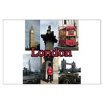 London Views Poster Art