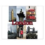 London Views Poster Design