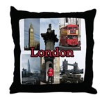 London Views Throw Pillow