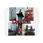 London Views Sherpa Fleece Throw Blanket