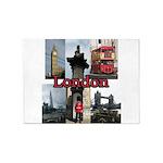 London Views 5'x7' Area Rug