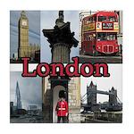 London Views Tile Coaster