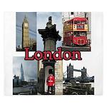 London Views King Duvet