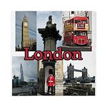 London Views Queen Duvet