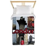 London Views Twin Duvet Cover