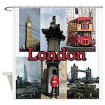 London Views Shower Curtain