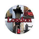 """London Views 3.5"""" Button"""