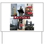 London Views Yard Sign
