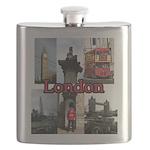 London Views Flask
