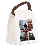 London Views Canvas Lunch Bag