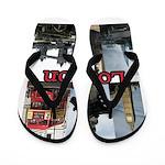 London Views Flip Flops