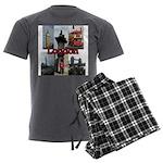 London Views Men's Charcoal Pajamas