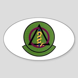 325th Dental Squadron Oval Sticker