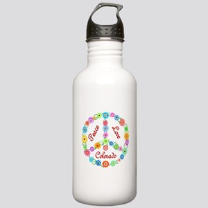 Peace Love Colorado Stainless Water Bottle 1.0L