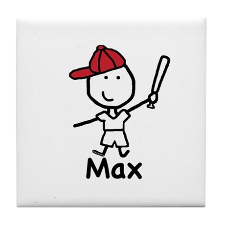 Baseball - Max Tile Coaster