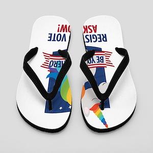 Register to Vote Flip Flops