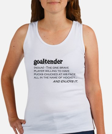 Goaltender Women's Tank Top