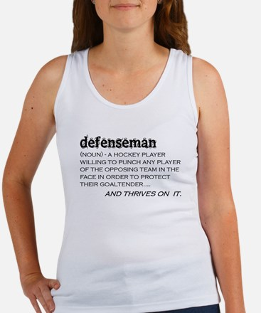 Defenseman Women's Tank Top