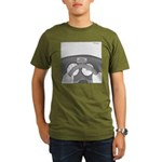 Check Pancreas (no text) Organic Men's T-Shirt (da