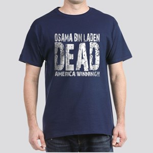 Osama Dead Dark T-Shirt