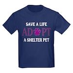 Save A Life Kids Dark T-Shirt