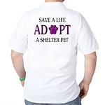 Save A Life Golf Shirt