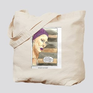 Girl with Attitude tote bag