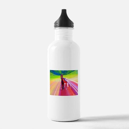 Cool Standardbred horse Water Bottle