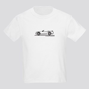 Ford GT Mustang Convertible Kids Light T-Shirt