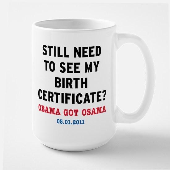 BirthCertificate_small Mugs