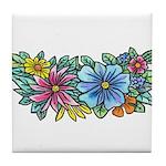 Flower Spray #1 Tile Coaster