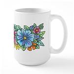 Flower Spray #1 Large Mug