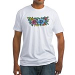 Flower Spray #1 Fitted T-Shirt