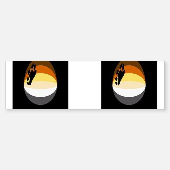 BEAR PRIDE CIRCULAR_2_images- Bumper Bumper Bumper Sticker