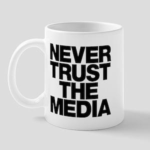 Never Trust The Media Mug