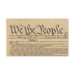 We The People Car Magnet 20 X 12