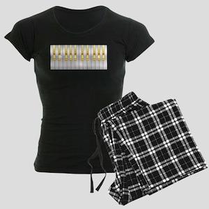 Gold And Silver Piano Keys Pajamas