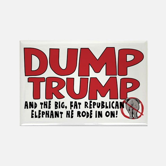 Dump Trump 2012 Rectangle Magnet
