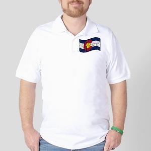 Breckenridge Colorado Flag Golf Shirt